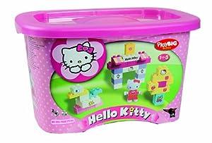 BIG PlayBIG Bloxx Hello Kitty 57022 - Juego de construcción (73 piezas) [importado de Alemania] por Big en BebeHogar.com