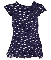 Pepperika Baby-Girls' Dress (Esgd2_12_Navy_9-12 Months)