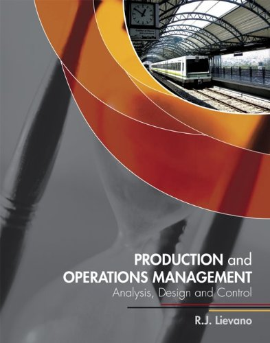 LSC FMIS3301: Production and Operations Management:...