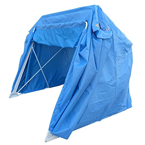 Large Motorcycle Bike Touring Shelter Tent Shield for Storage / Cover / Tent / Garage (Motorcycle Storage Tent compare prices)
