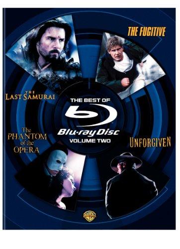 The Best of Blu-ray, Volume Two (The Last Samurai / The Phantom of the Opera / Unforgiven / The Fugitive)