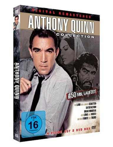 Anthony Quinn-Collection *4 Filme auf 2 DVDs!* -digital remastered!-