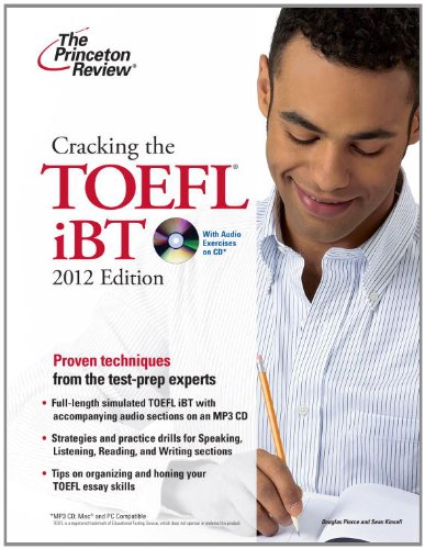 Cracking the TOEFL iBT with CD, 2012 Edition (College...