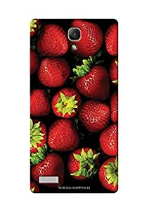 Sowing Happiness Printed Back Cover For Xiaomi Redmi Note::Note 4G