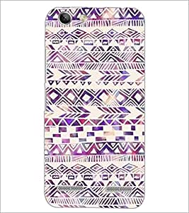 PrintDhaba Pattern D-2188 Back Case Cover for LENOVO LEMON 3 (Multi-Coloured)