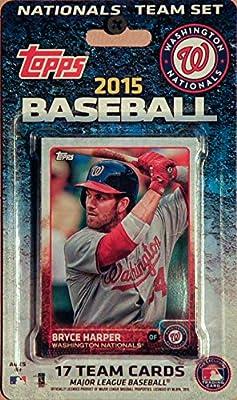 MLB Washington Nationals Licensed 2015 Topps® Team Set