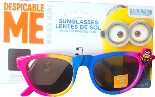[Despicable Me Minions Children's Sunglasses 100% Uv Protection] (Despicable Me Glasses)