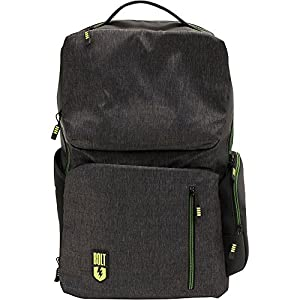 M-Edge Bolt by M-Edge Backpack with Battery Heathered Grey - M-Edge Laptop Backpacks