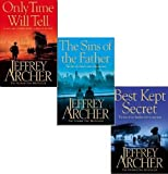 Jeffrey Archer Jeffrey Archer Clifton Chronicles trilogy Collection 3 Books Set(Only time will tell The sins of the father Best Kept Secret,[HARDCOVER])