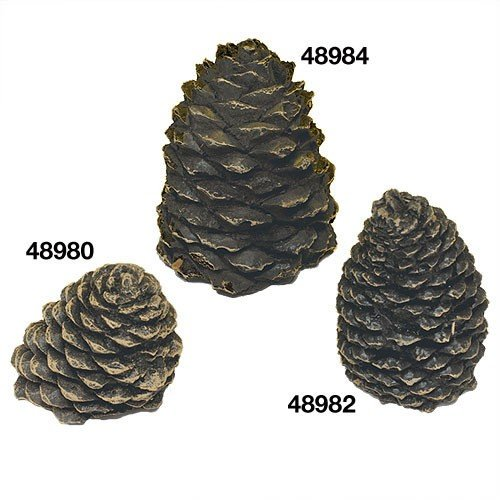 Hargrove Manufacturing 1203BX Hargrove Small Slanted Ceramic Pine Cone For Gas Logs 3.5 Inch h (Gas Pine Cones compare prices)