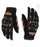 #7: Favourite BikerZ KTM Riding Gloves Black Size (M)