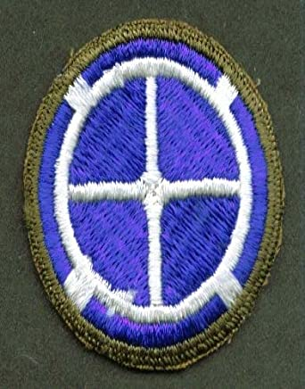 """US Army 35th Division SSI cloth patch 2 1/4"""" unused"""