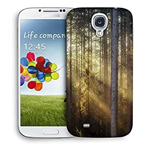 Snoogg Sunlight In Forest Printed Protective Phone Back Case Cover For Samsung S4 / S IIII