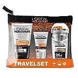 L'Oréal Men Expert Reiseset Energy Box - Pflegeset inkl. Reinigungsgel