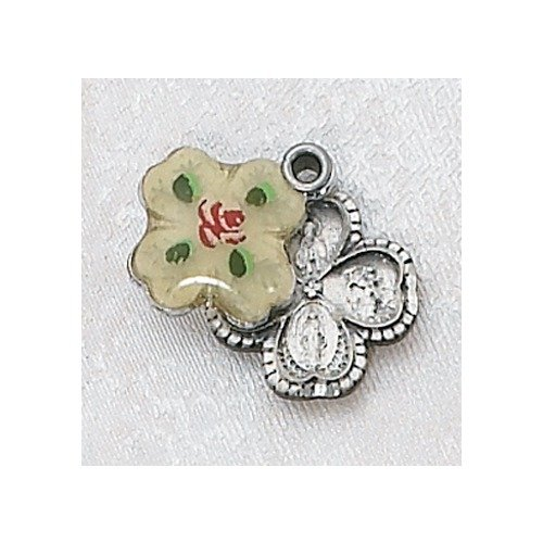Sterling Silver Cloisonne Four-Way Medal