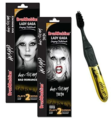 Brush Buddies 00329-24 Lady Gaga Singing Toothbrush by Brush Buddies
