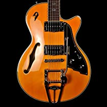 Duesenberg Starplayer TV Classic in Honey All Over with Case