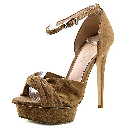 Pelle Moda Mala Daim Sandales Compensés