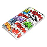 DeinPhone Comic Boom Hardcase Cover Bumper for Sony Xperia Miro ST23i