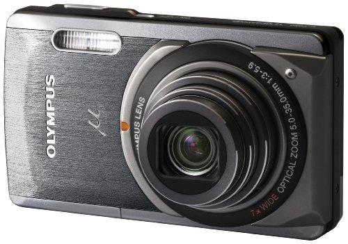 OLYMPUS デジタルカメラ μ-7020 ダークグレイ μ-7020 GRY