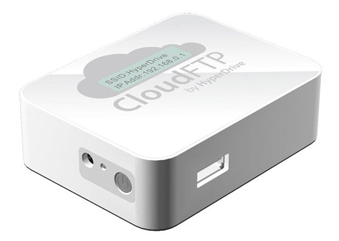 Sanho CloudFTP universal USBCloud Adapter mit Akku  Überprüfung und Beschreibung
