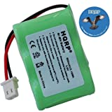 HQRP Battery for Kaito Voyager KA500 KA600 Emergency AM/FM/SW Weather Alert Radio + HQRP Coaster