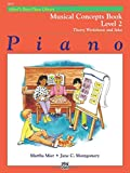 img - for Alfred's Basic Piano Library Musical Concepts, Bk 2 book / textbook / text book