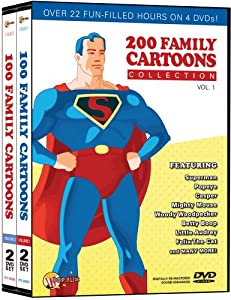 200 Family Cartoons Collection 1