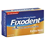 Fixodent Denture Adhesive Powder, Dawn to Dark, Extra Hold 2.7 oz (76 g)