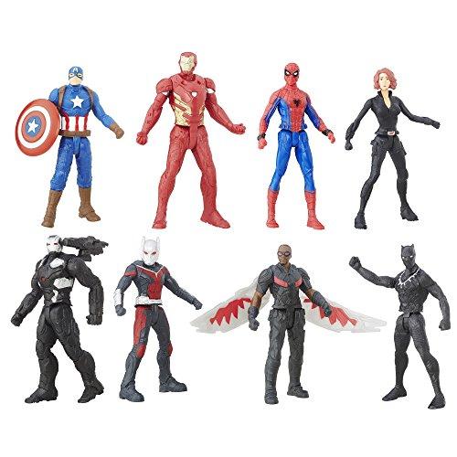 Captain America Civil War 2.5 Inch  Figure Multipack (Spiderman Vs Captain America compare prices)