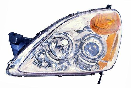 depo 317 1146pxas1 honda crv chrome headlight projector. Black Bedroom Furniture Sets. Home Design Ideas