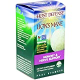 Host Defense - Lion's Mane Capsules, Memory & Nerve Support, 120 count (FFP)