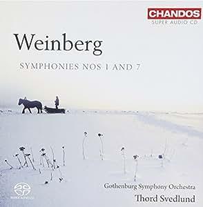 Weinberg: Symphony Nos.1 & 7