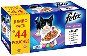 Felix Pouch Mixed Selection '44 x 100 g Pouches'