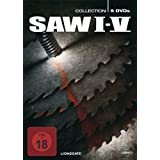 "Saw I - V (5 DVDs, Digipack)von ""Cary Elwes"""