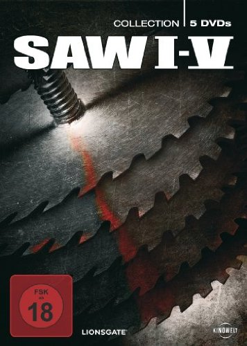 Saw I - V (5 DVDs, Digipack)