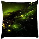 Snoogg Abstract Space Cushion Cover Throw Pillows 16 X 16 Inch
