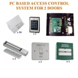 TC342- COMPUTER TCP/IP BASED COMPLETE 2 DOOR ENTRY PC ACCESS CONTROL SYSTEM by Digiteck