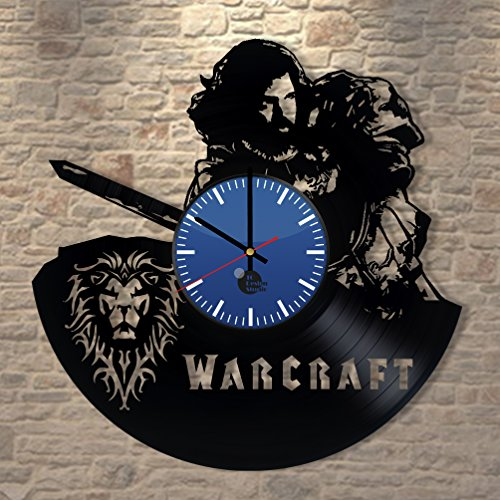 World-of-Warcraft-Handmade-Vinyl-Record-Wall-Clock-Fun-gift-Vintage-Unique-Home-decor-Art-Design