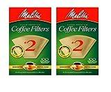 Melitta #622752 100CT #2 BRN Filter