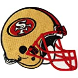 1 X San Francisco 49ers Helmet Logo Iron Patches
