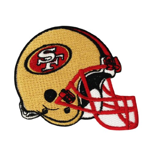 San Francisco 49ers Helmet Logo Iron Patches at Amazon.com