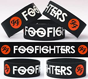 Foo Fighters One Inch Silicone Wristband