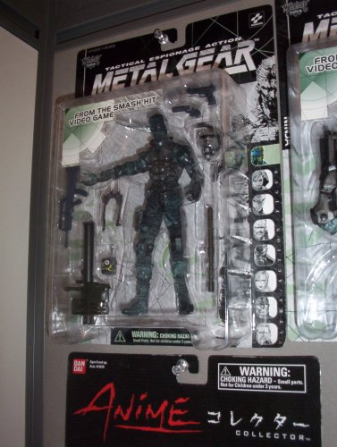 Picture of McFarlane Metal Gear Solid Snake Figure (B0012FW5C8) (McFarlane Action Figures)
