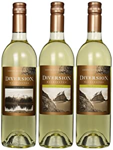 Diversion Rest, Relax and Unwind White Wine Mixed Pack, 3 x 750 mL