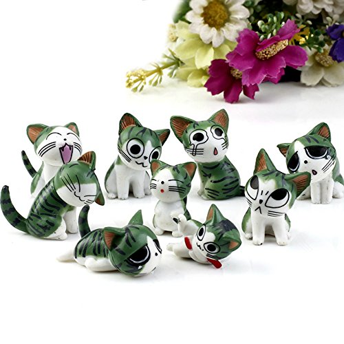 9Pcs/Set Resin Chi's Sweet Home Garden Decoration Ornaments Mini Crafts Bonsai Micro Landscape (Infusion Resin compare prices)