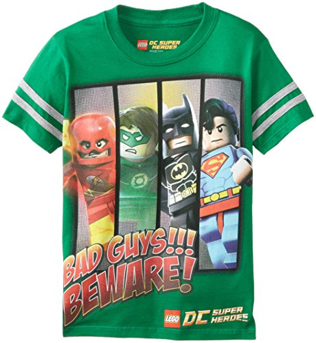 Lego Little Boys' Bad Guys Beware, Green, 4 front-384843