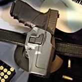 BLACKHAWK! Serpa CQC Gun Metal Grey Sportster Holster, Size 00, Right Hand, (Glock 17/22/31 Gn Mtl Gry )