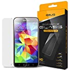 Galaxy S5 Screen Protector, Obliq [Tempered Glass Protector] Samsung Galaxy S5 Screen Protector [Zeiss Pure Glass] Extreme Break and Shock Protection - Verizon, AT&T, T-Mobile, Sprint, International, and Unlocked - Screen Cover for Samsung Galaxy S5 2014 Model