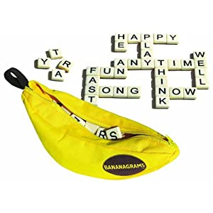 Click to buy Best Travel Games for Kids: Bananagrams from Amazon!